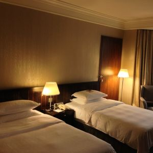ビジネスじゃないホテルに泊まるとベッドにかかってるコレ、ずっと何の意味があるのか分からなかったけど…