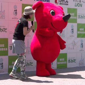 千葉のマスコット チーバ君、埼玉に宣戦布告www