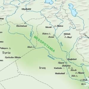 メソポタミア文明にハンズがあった場合のフロアガイドを考えてみました。
