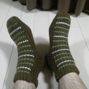 母が「汚れ落ちなかったよ~」と見せてくれた靴下。実は…w