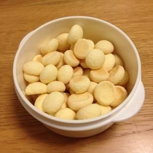 「たまごボーロ」を袋半分くらい食べたところで驚愕の事実が判明www