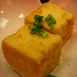 揚げ出し豆腐が脱走したwwwwwwwwww
