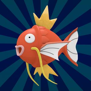 自分以外の魚型ポケモンたちへの不満を吐露するコイキング。