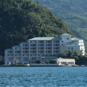 淡島ホテル撮ろうとしたらフレームインされただが!?💢💢