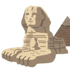 エジプトに旅行に行ってる母親からLINEで送られてくる写真が浮かれすぎてる