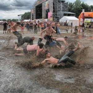 泥遊びで顔を突っ込んだワンコが大変なことにwwwww