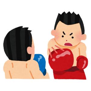 このボクシンググローブ、あの有名人にしか見えない…w