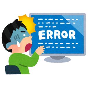 現場から「パソコンの画面が真っ青になってなんか英語が出とる!」というので駆けつけた結果wwwww