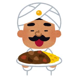 間違いなく本格的なインドカレーを出すインド人の店なんだなって看板見ただけで分かる