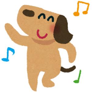 なんか踊ってる犬いたwwwwwww🐕