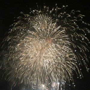 タイで打ち上げられた巨大トンボ花火がすごいww