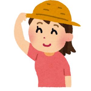夏イベントにおける帽子の重要性がわかる一枚の写真がこちら
