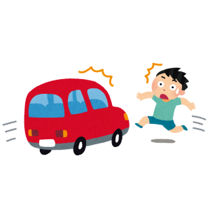 弟が描いた交通安全ポスターが衝撃的すぎる😱