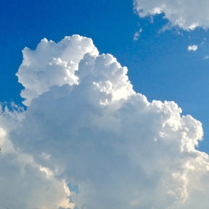 おじさんの見本市みたいな入道雲が撮れたwwwww
