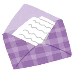 小1の娘から貰った手紙がすっごい「上から目線」だったww