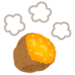 MR-Sのエンジンルームで焼き芋作ってみた!