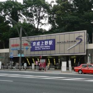 シャンシャン人気にあやかろうと京成上野駅に似ても似つかないのがいた😂