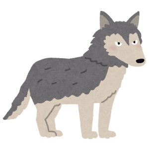 オオカミ犬とは思えないゴロニャンっぷりwwwww