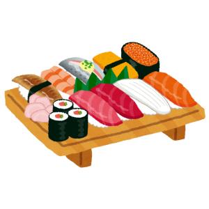 リアルな寿司の写真がプリントされた「寿司まんじゅう」を開けてみると…ズコー!