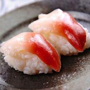 某回転寿司屋の「括ホッキ貝」がイッキイキ。