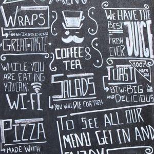ある飲食店のメニューにある「Free Wi-Fi」の致命的な誤字…これはアウトw