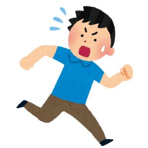 路地裏で舌なめずりをする「アイツ」に遭遇…逃げ切れる気がしない😱