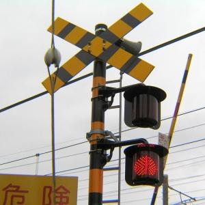 【えっ】踏切で電車を待っていたら……シュールすぎる光景がww
