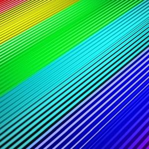 窓の外に虹色に光る謎の生物を発見!…と思ったら😅
