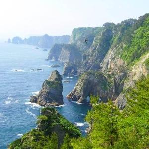 岩手県の海岸沿いにあるコンビニの「日常的な光景」がこちらですw