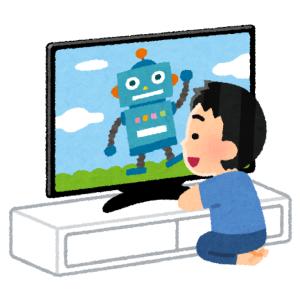 「子供が至近距離でTVを見るのを防ぐにはチクチクの天然芝を置くといい」を実践した結果ww