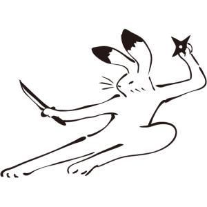 """「もはや鳥獣戯画」あまりに完璧な""""うさぎのドロップキック""""が激写される🐰"""