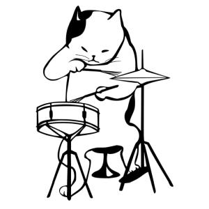 楽器の練習をしようとした途端…失礼だなキミは😽