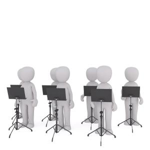 「時代を感じる…」最近のプロ合唱団、めっちゃハイテク化してたwww