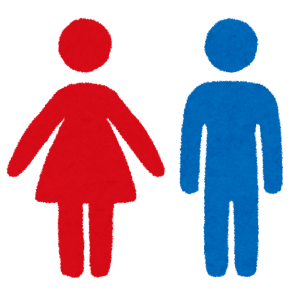 とある施設にある「男女兼用トイレ」の看板…もっといい表現方法あったろw