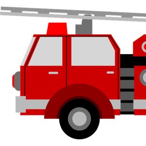 """消防車のサイレンを鳴らすボタンが""""そのまんま""""すぎるwww"""