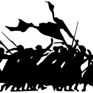 「パリの暴動で破壊された凱旋門のマリアンヌ像をCGで修復してみた!」→人類滅亡しそうw