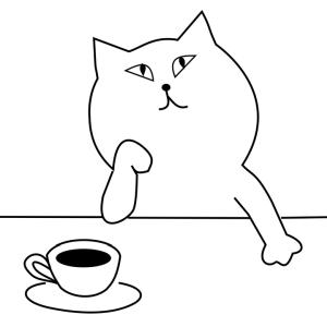 """「このアンニュイ感…w」猫カフェに行ったら""""猫人生""""に疲れた猫がいた😅"""
