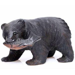 北海道名物「クマの置物」が進化しすぎて…もはや意味不明ww