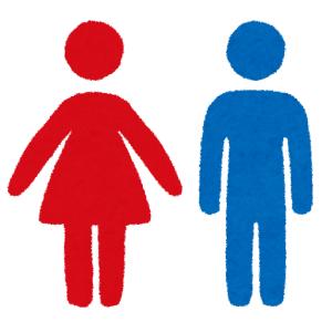 """このトイレの「男女マーク」に完全なる""""デザインの敗北""""を見た…😓"""