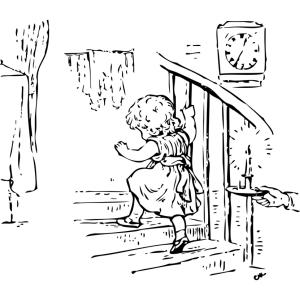 「コレ置いたら一発だったわw」…幼児が階段に近づかなくなる画期的な方法が話題にw