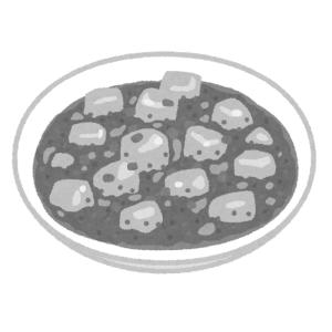 麻婆豆腐に「青色一号」を入れてみたら…この世の料理とは思えないビジュアルにツイ民衝撃😨