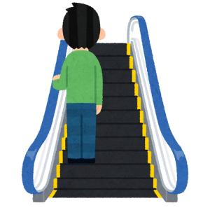 「いや無理だろw」…京急電鉄のエスカレーター乗り場に掲載された注意書きが話題に