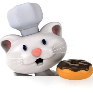 「これはあざとい…」井の頭公園のカフェで注文できる『ねこドーナツ』が包装も含めて可愛すぎるw