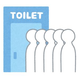 この公衆トイレの注意書き…印字と手書きのギャップがものすごい😨