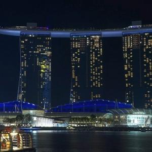 「夢で見るような奇妙な景色…」シンガポールのショッピングモールがスゴイ事になっていた