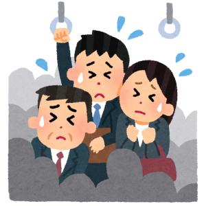 """「東京の電車混みすぎ!」という一枚の写真を巡りツイ民激論! 都民の""""病んだ常識""""が浮き彫りに😓"""