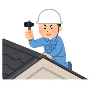 """【超絶】「ヨシ!じゃねーよ…」現場猫もドン引きするレベルの""""屋根の修理風景""""が話題に😱"""