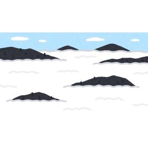 「CGみたいだ…」あるツイ民が撮影した『越前大野城』の雲海が幻想的すぎると話題に