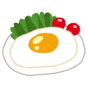こんなにも「目玉焼き」が似合いそうなお皿、はじめて見た…😅