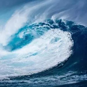 【驚愕】あるイラストレーターが「波」を描く為に使った材料が意外すぎるwww